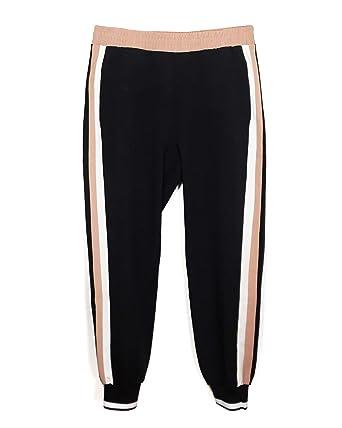 chaussures de sport 7eaf5 1d34d Zara Femme Pantalon de Jogging avec Bandes latérales 5039 ...