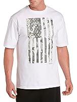 Reebok Big & Tall Camo Flag Graphic T-Shirt