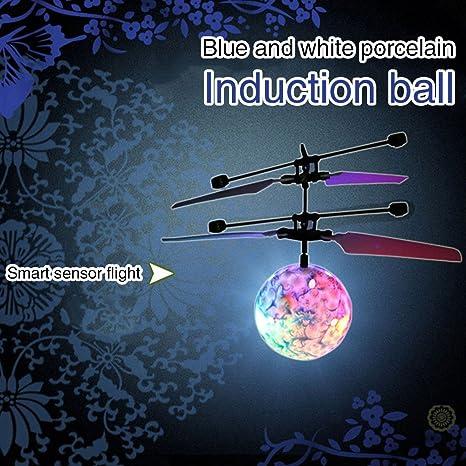 OYJJ   Boule Volante à Induction colorée   Suspension Intelligente