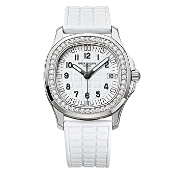 6732c8047 Amazon.com: Patek Philippe Ladies Aquanaut 35mm Stainless Steel Watch on  Rubber Strap 5067A-024: Watches