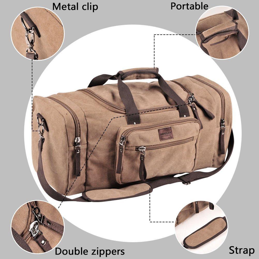 a1ec67db2ee253 Dream Hunter Canvas/Weekender/Travel/Duffel Bag for Men's, Blue L-13  [1541667714-398479] - $19.05