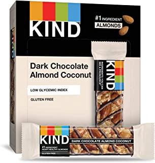 product image for KIND Bars, Dark Chocolate Almond & Coconut , Gluten Free, Low Sugar, 4 Count (Pack of 12)
