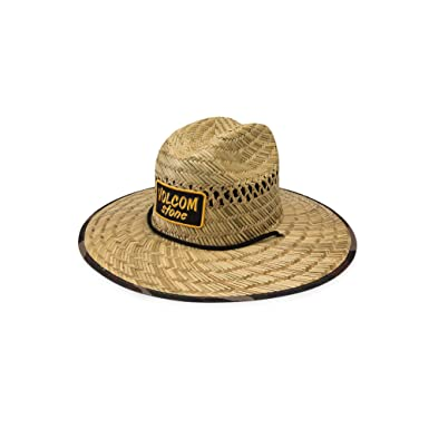 low priced 47efb 727f2 Amazon.com  Volcom Men s Trooper Straw Lifeguard Hat  Clothing