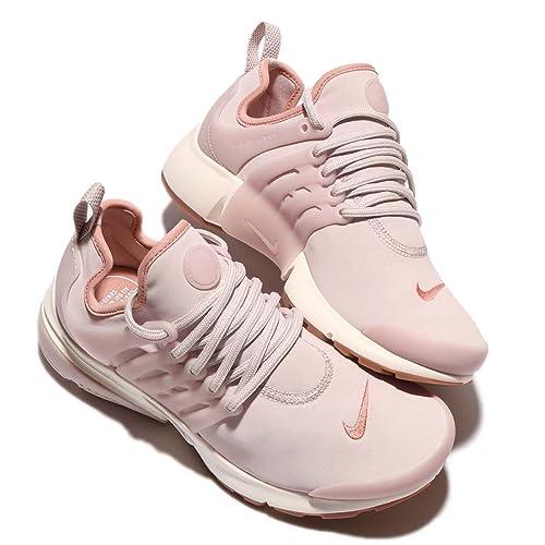 189fbcf7c384 Nike Womens AIR Presto Premium SILT RED Pink Stardust Gum Sole 878071 601   Amazon.in  Shoes   Handbags