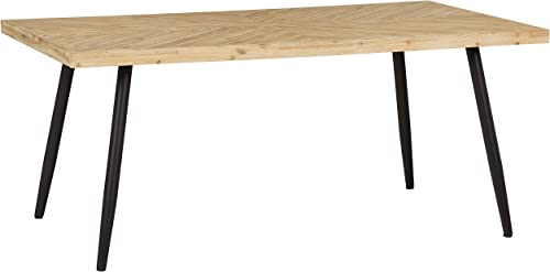 Amazon Brand Rivet Fulton Modern Rustic Dining Table