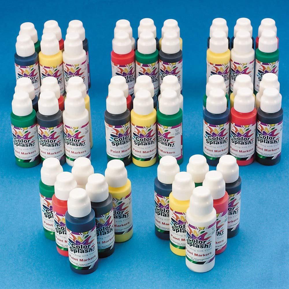 Color Splash! Tempera Paint Marker Set - Primary Colors by Color Splash!