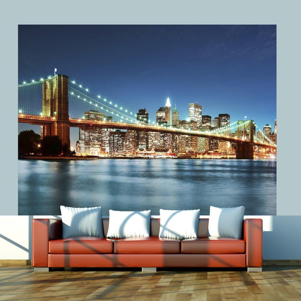 Murando - Fototapete Fototapete Fototapete 350x270 cm - Vlies Tapete - Moderne Wanddeko - Design Tapete - Wandtapete - Wand Dekoration - New York 100404-125 6db7ac