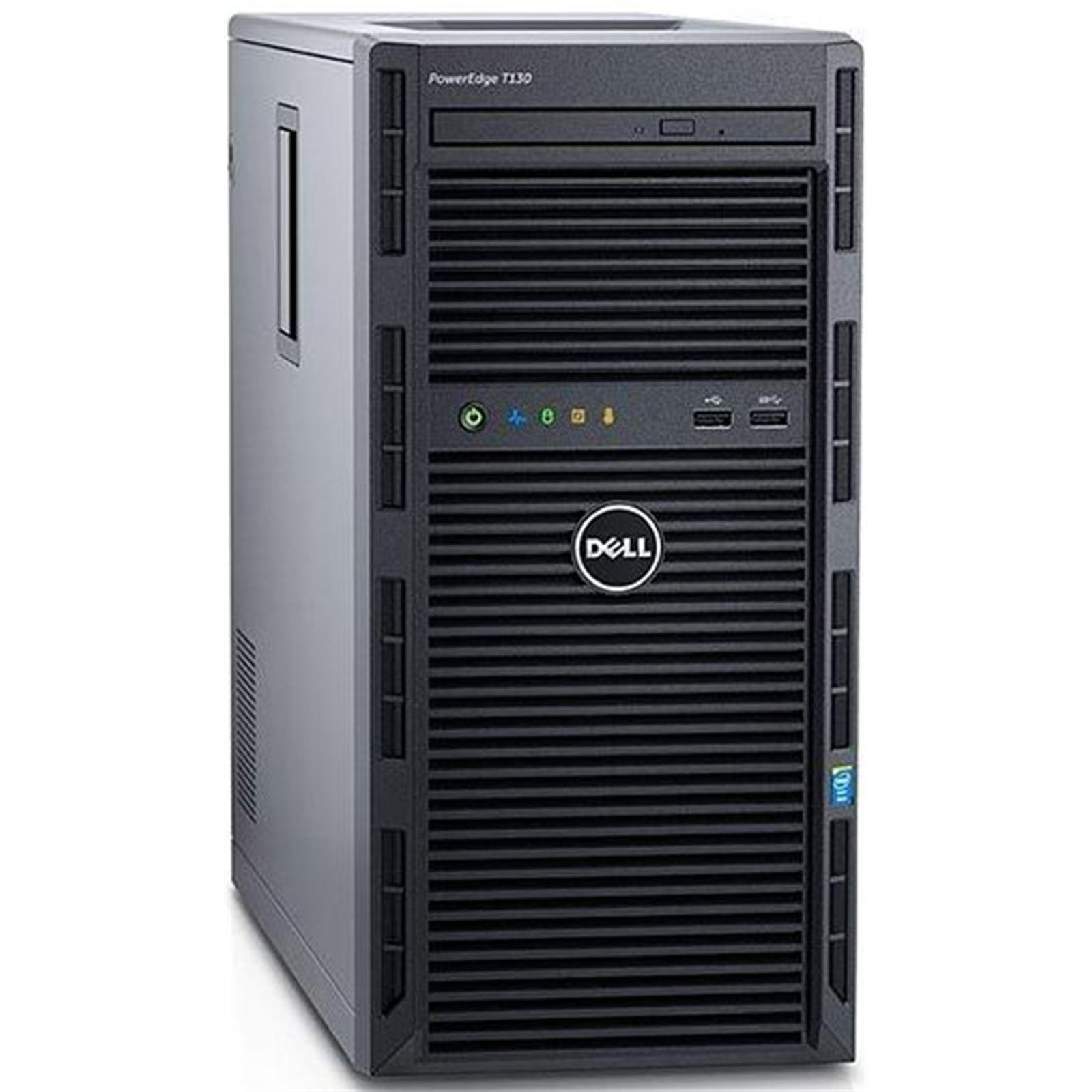 Dell PowerEdge T130 Quad-Core 3.6GHz 4GB RAM 2TB HDD(Certified Refurbished) by Dell
