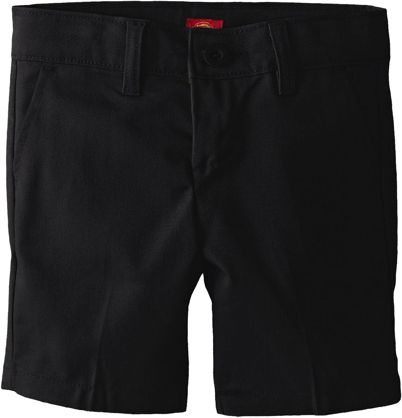 Dickies Girls Flex Waist Slim Fit Flat Front Short