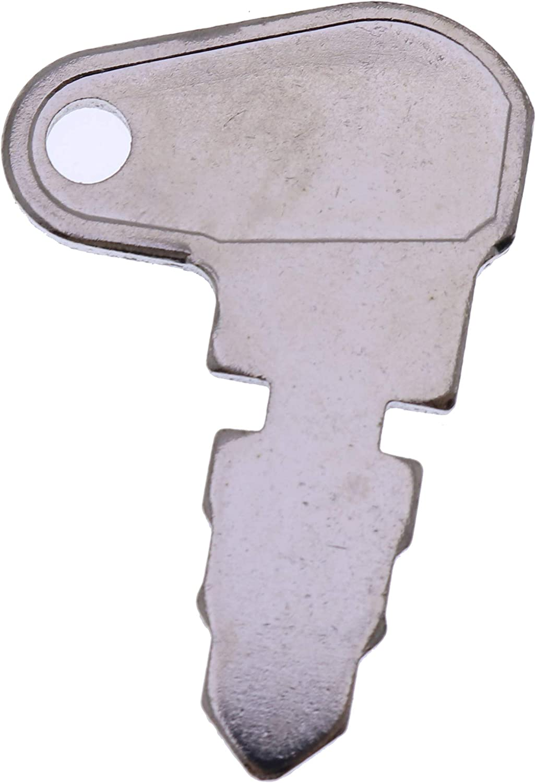 YQI 5PCS B17575 Key for John Deere Bulldozer 450 Loader 350 400 Tractor 300 Forklift 380 480 480A