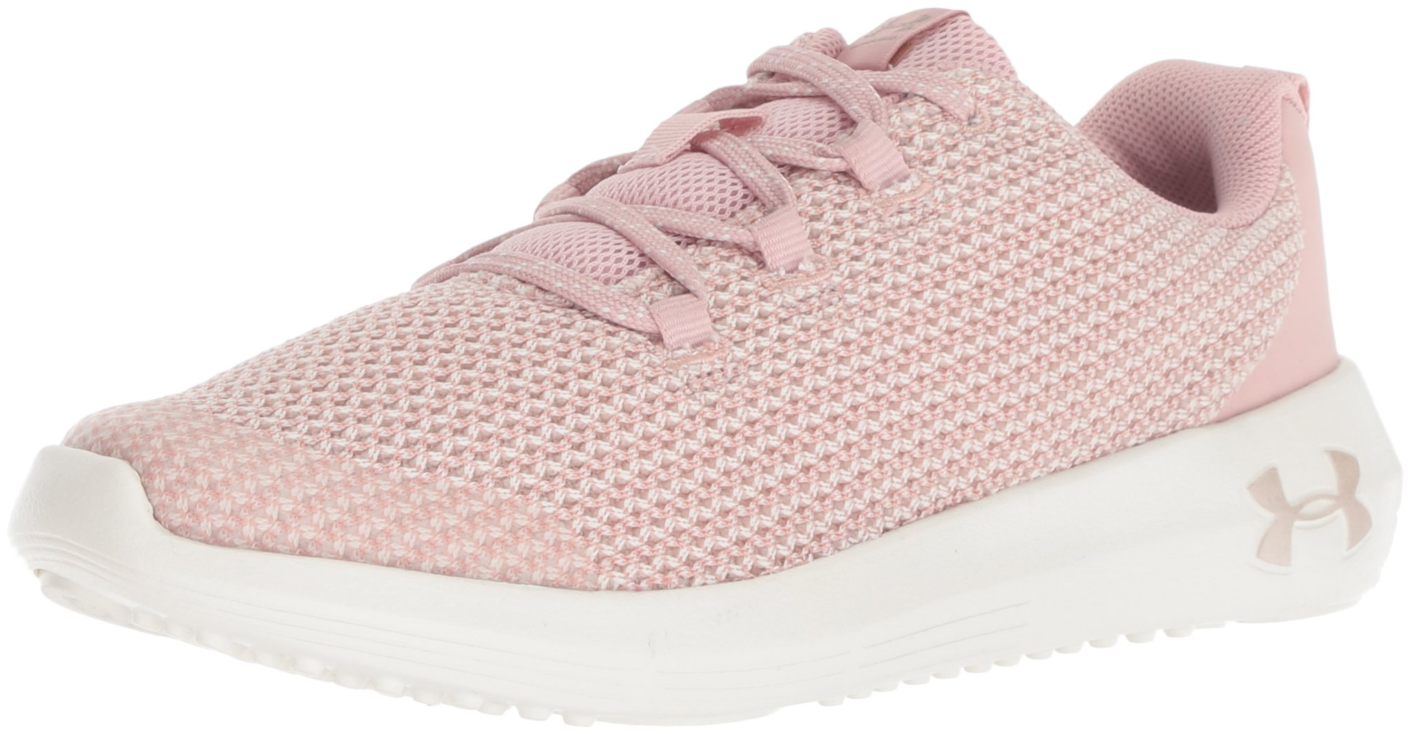 Under Armour Girls' Pre School Ripple Sneaker Flushed Pink (600)/Ivory 1