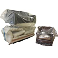 Dining Chair Footstool Storage Office Chair Sofa Furniture Settee Chair Dust Small Storage Moving Removal Cover Bag