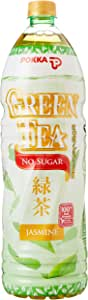 Pokka Jasmine Green Tea No Sugar,1.5L (Pack of 12)