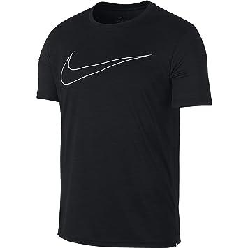 new arrival cd9b9 06efb Nike M NK SUPERSET Top SS GFX T- T-Shirt Homme, Black