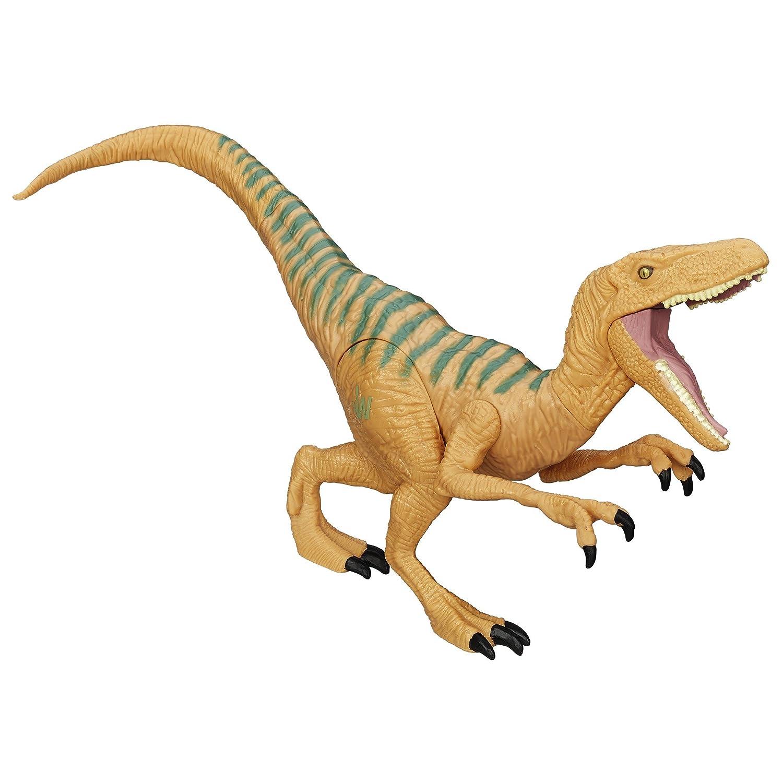 amazon com jurassic world velociraptor echo figure toys games