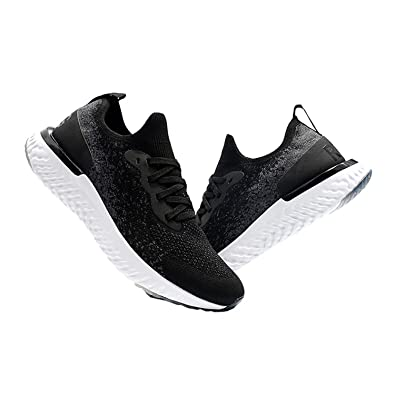 cc22aeade81 Maxsell Men s Woman Epic Fitness Shoes React Running Casual Sports Shoes  Flyknit Racer Breathable Sneakers 2018