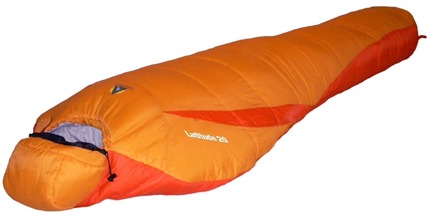Alpinizmo High Peak USA Latitude 20 Sleeping Bag, Orange