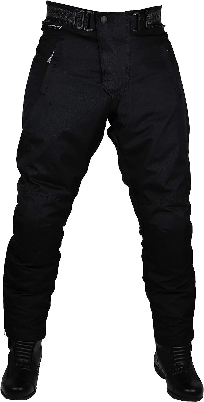 Roleff Racewear 451XXXL Pantaloni Moto in Tessuto Nero XXXL