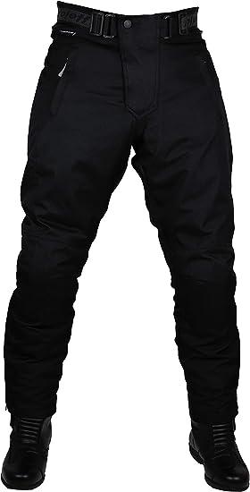 Roleff Racewear Pantaloni Moto in Tessuto Nero XS