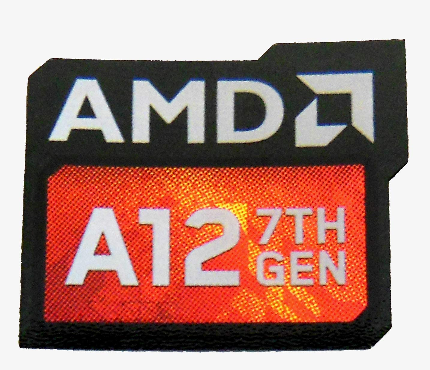 1004 VATH AMD A12 7th Generation Sticker 16 x 20mm 5//8 x 13//16