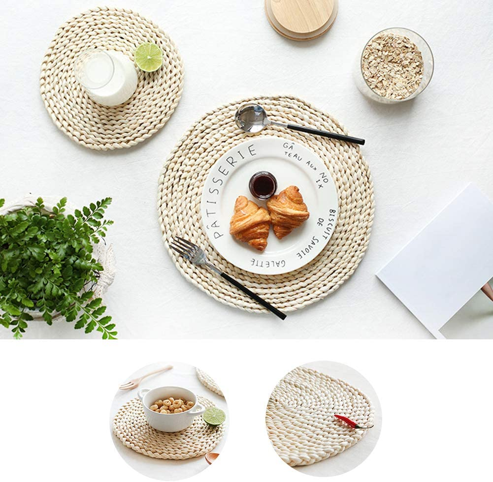 longyitrade Rattangeflecht rund oval Tisch Sets Esstisch