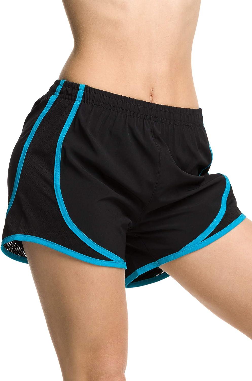 Epic MMA Gear Ladies Moisture-Wicking Track /& Field Running Shorts