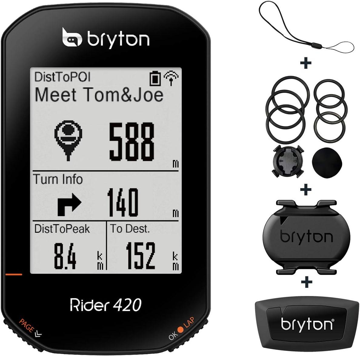 Bryton Rider 420 - Ciclocomputador GPS