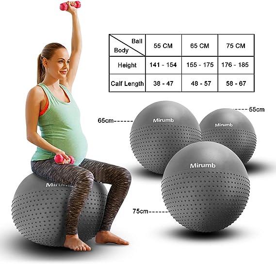 Palle da ginnastica GSERA Palla Fitness per Esercizi..
