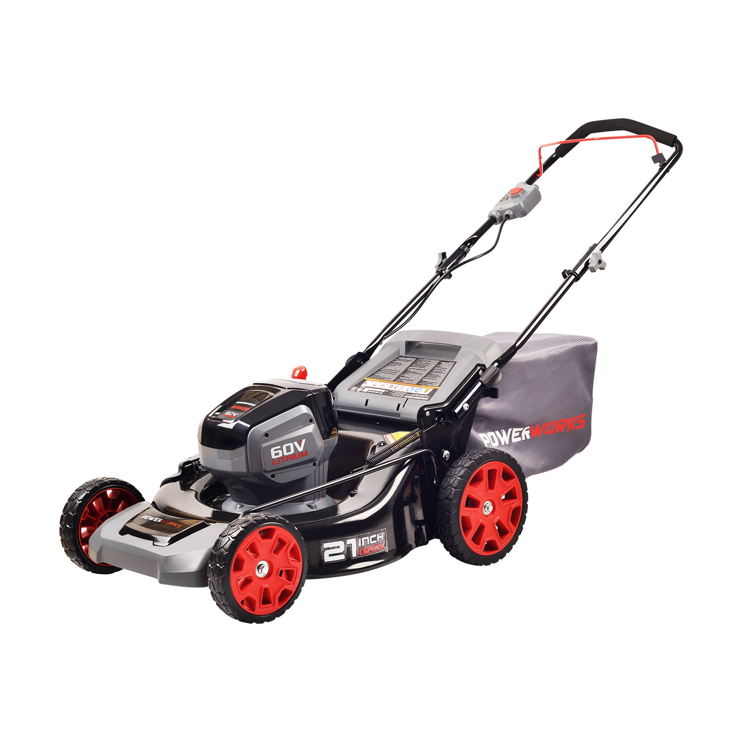 POWERWORKS 60V 21-inch Brushless HP Mower, Battery Not Included MO60L03PW