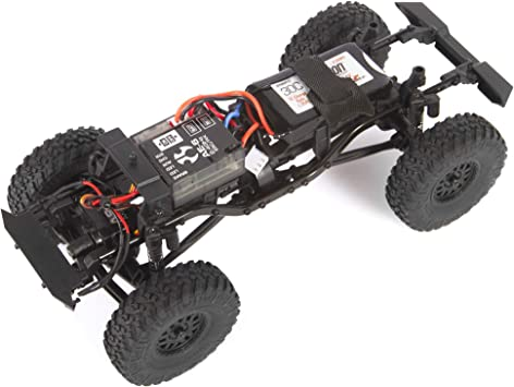 Axial 1/24 SCX24 2019 Jeep Wrangler JLU CRC Rock Crawler 4WD RTR, color blanco, AXI00002T1