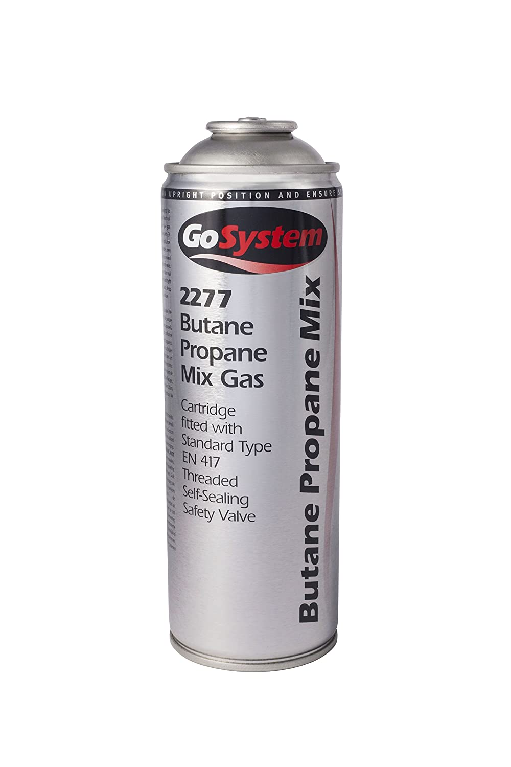 GoSystems Butane Propane 277G Mixed Gas Cartridge - Silver