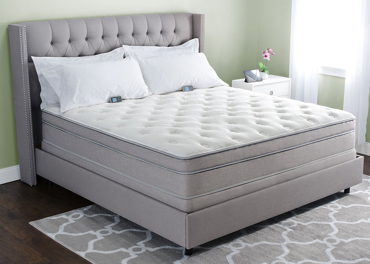"13"" Personal Comfort A8 Bed vs Sleep Number i8 Bed - King Mattress smart mattress - 71AS8PFUrvL - Smart mattress– review on smart mattress and its features"