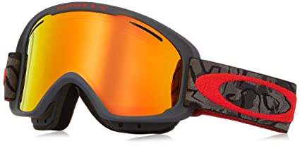 68a87ef99a Oakley O-Frame 2.0 XM Adult Snowmobile Goggles - Camo Vine Night Fire  Iridium
