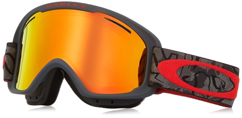 6c17442399ec Oakley o frame adult snowmobile goggles camo vine night fire iridium medium  sports outdoors jpg 1500x730