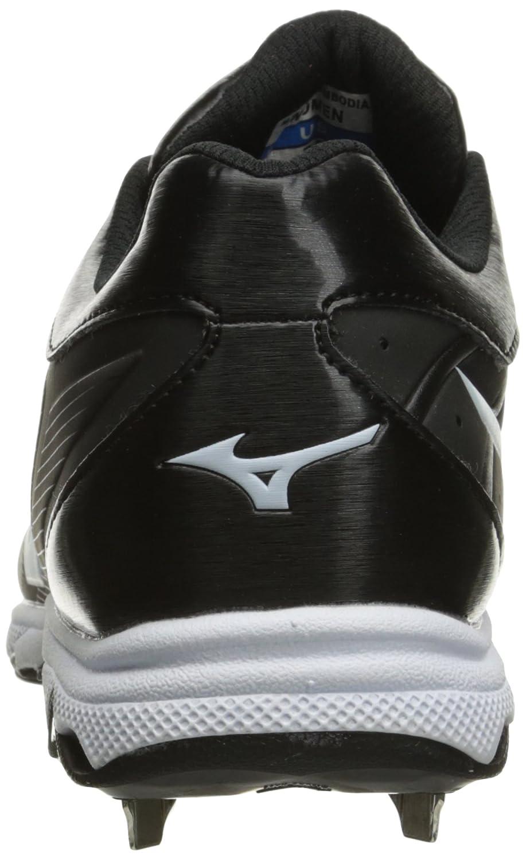 Mizuno Women's 9-Spike Shoe Advanced Sweep 3 Softball Shoe 9-Spike B01JS47VLE 6 D US|Black/White dbeee3
