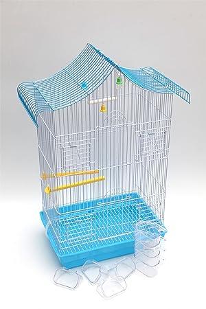 iMustbuy Jaula para pájaros - Jaula de Metal para periquitos ...