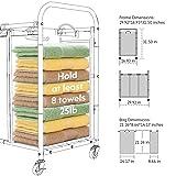 ROMOON Laundry Sorter, 3 Bag Laundry Hamper