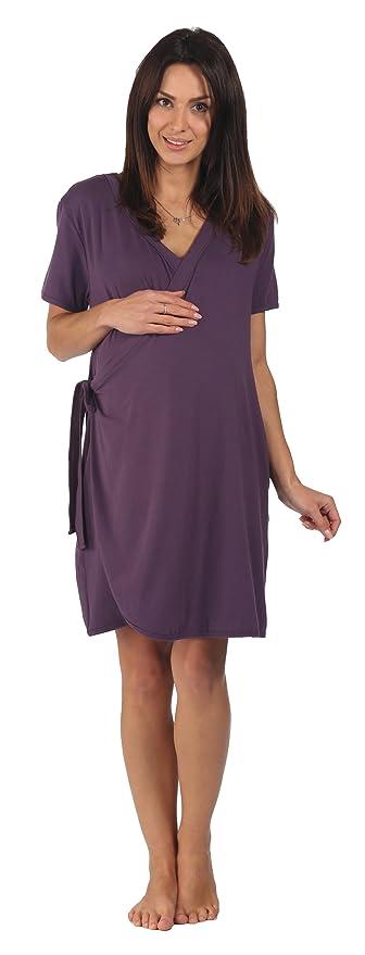 La bata de maternidad de bambú - Para el embarazo, el parto, la lactancia