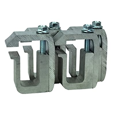 GCi STRONGER BY DESIGN G-1 Clamp for Truck Cap / Camper Shell (set of 4). Made with Structural Aluminum to Ensure Quality and Strength.: Automotive [5Bkhe0400793]