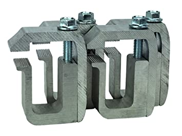 GCI G-1 Clamp for Truck Cap / Camper Shell (set of 4)  Made with Structural  Aluminum to Ensure Quality and Strength