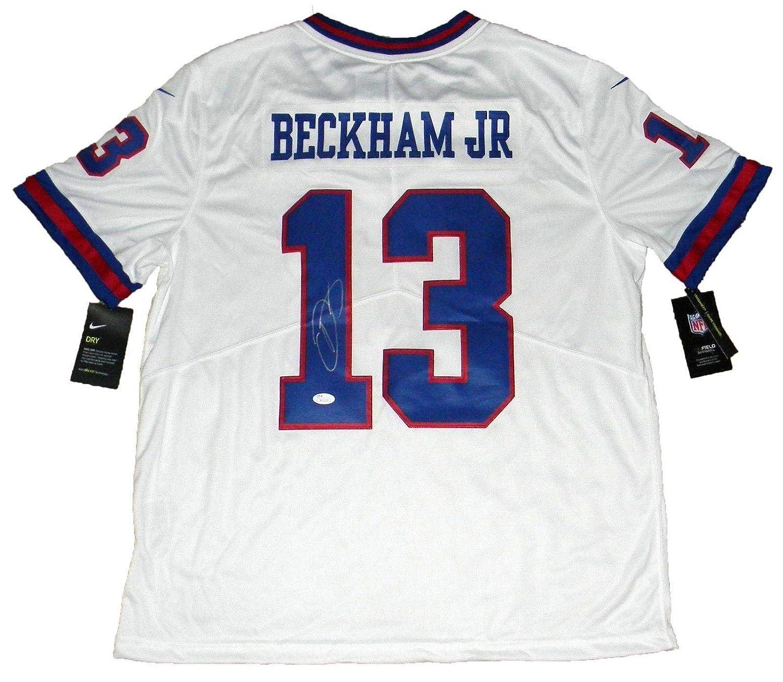 online store 9a8e1 1e8e4 Odell Beckham Jr Signed New York Giants #13 Color Rush Nike ...