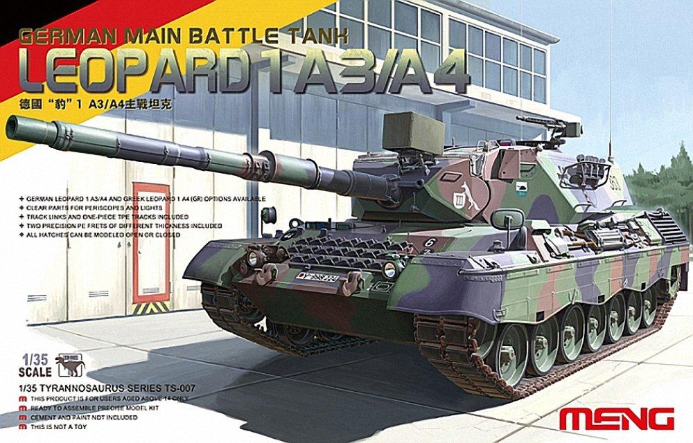 MENG-Model TS-007 - Leopard I German Main Battle Tank