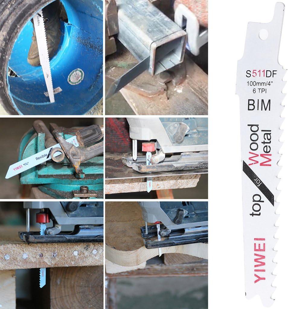 BIM S511DF Flexible S/äbels/ägebl/ätter f/ür Holz 5 St/ück Kunststoff Metall