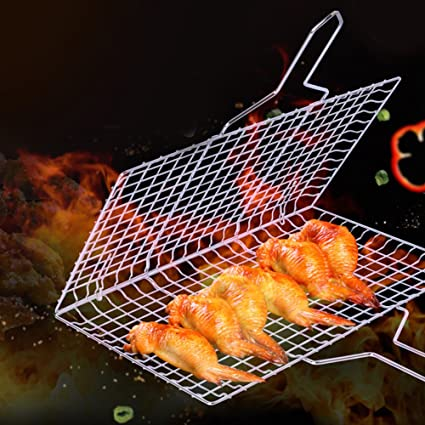 Wire Grill Basket | Amazon Com Aofjosfhs Nonstick Bbq Grilling Basket Portable