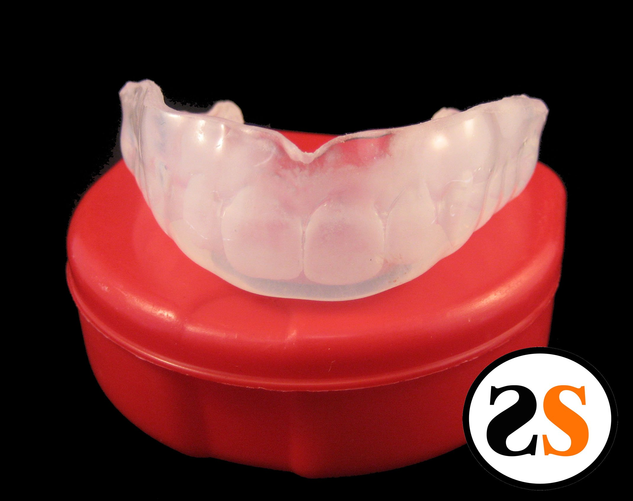 SportingSmiles 6mm Clear Custom MMA Mouthguard by SportingSmiles