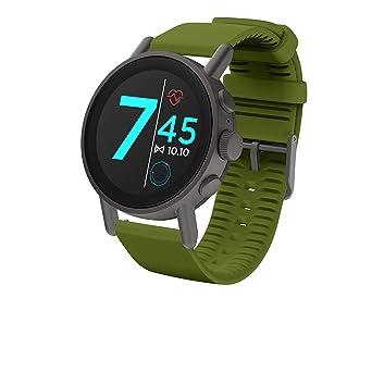 Amazon.com: Misfit Mens Smartwatch Vapor X Gunmetal-Tone ...
