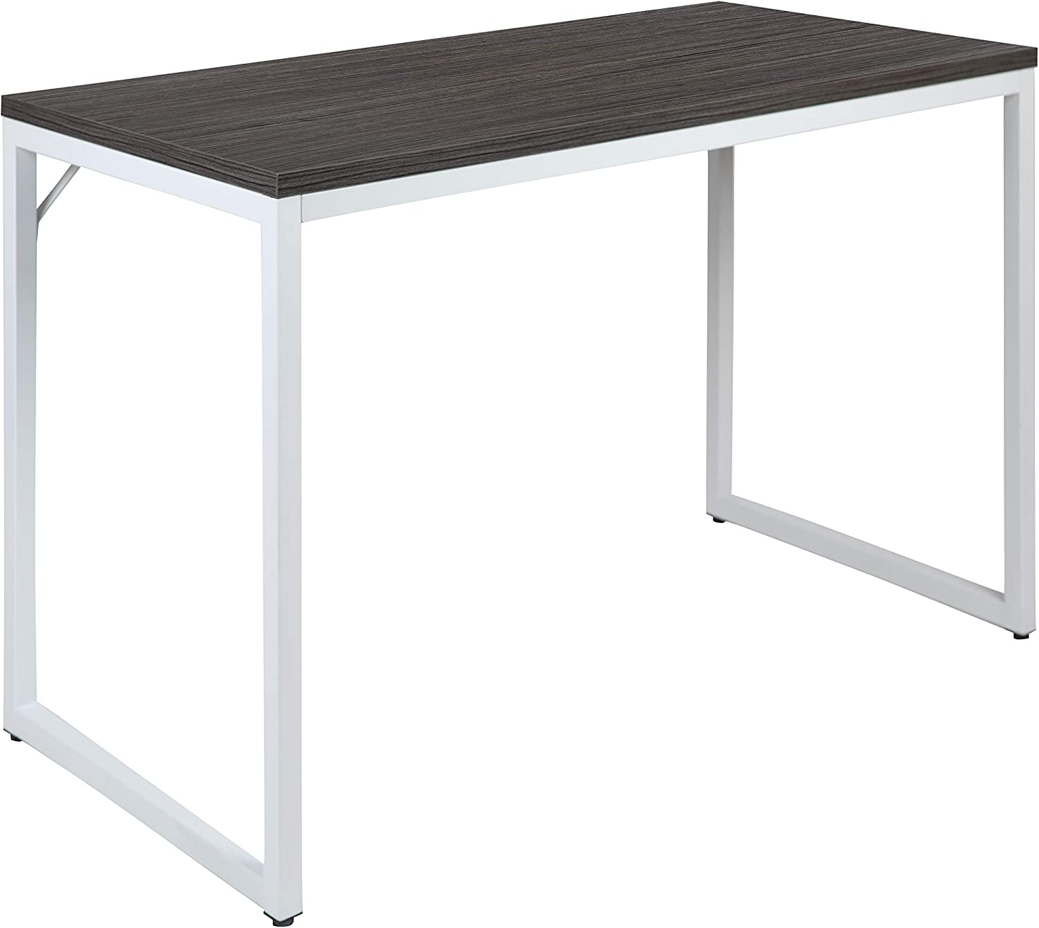 """Flash Furniture Commercial Grade Industrial Style Office Desk - 47"""" Length (Rustic Gray)"""
