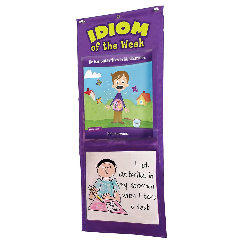 Amazon Educational Insights Idiom Of The Week Pocket Chart