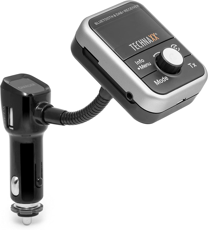 Technaxx Fm Sender Mp3 Player Bluetooth Dab Lcd Display Fmt1000bt Navigation