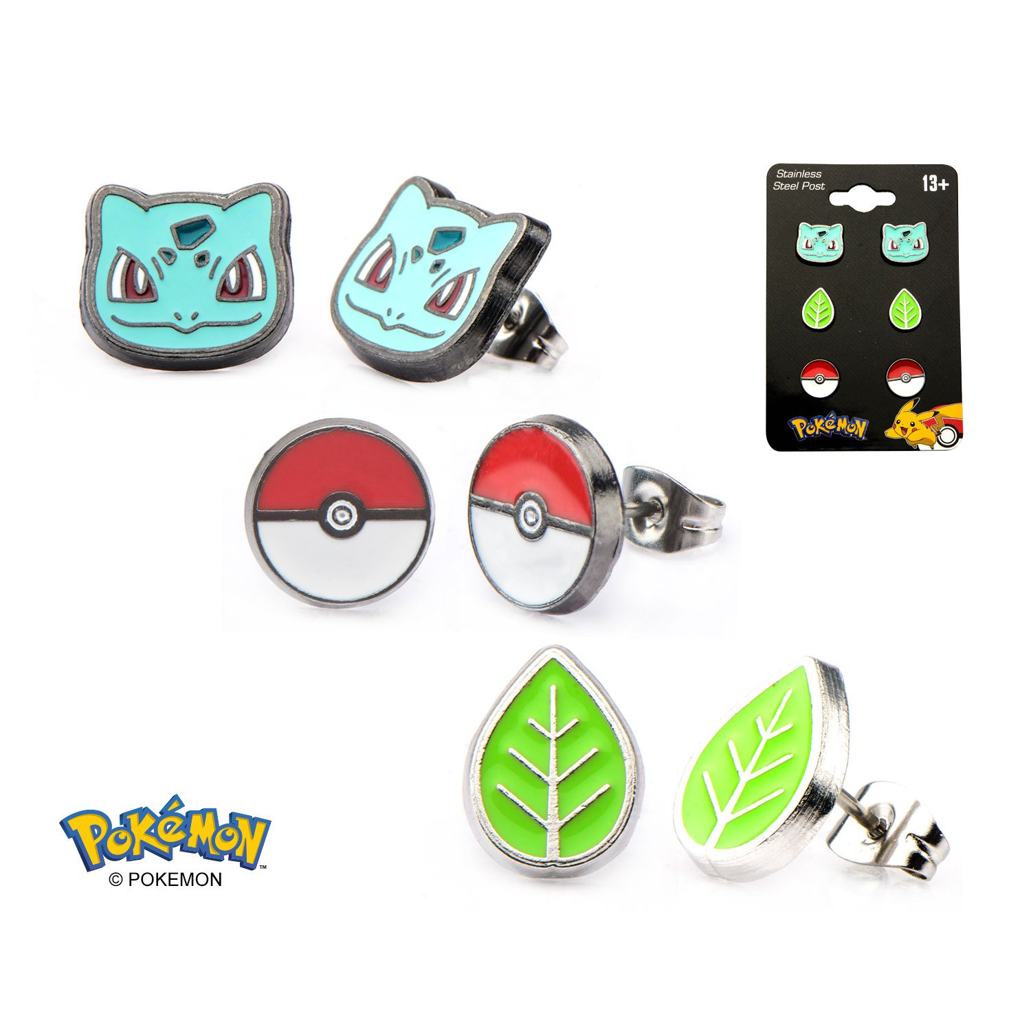 amazon com pokemon earrings many styles officially licensed